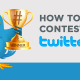 blog twitter contest