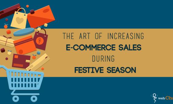 increasing e-commerce sales in festival