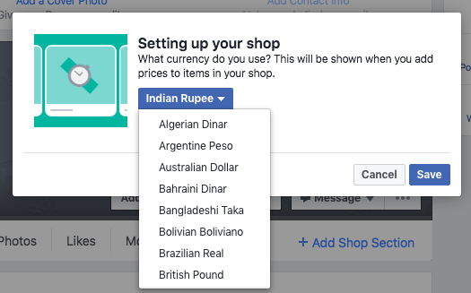 How to sell on Facebook via Facebook Shop Section [Updated 2019]