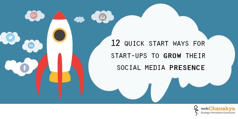 social media for startup
