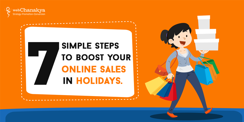 boost your online sales in holidays