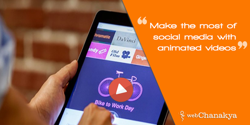 Make the most of social media with animated videos