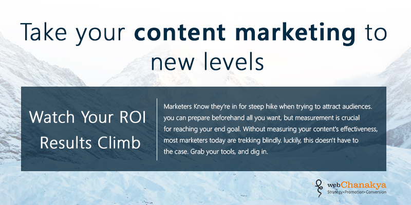 [Infographics] Take your content marketing to new levels