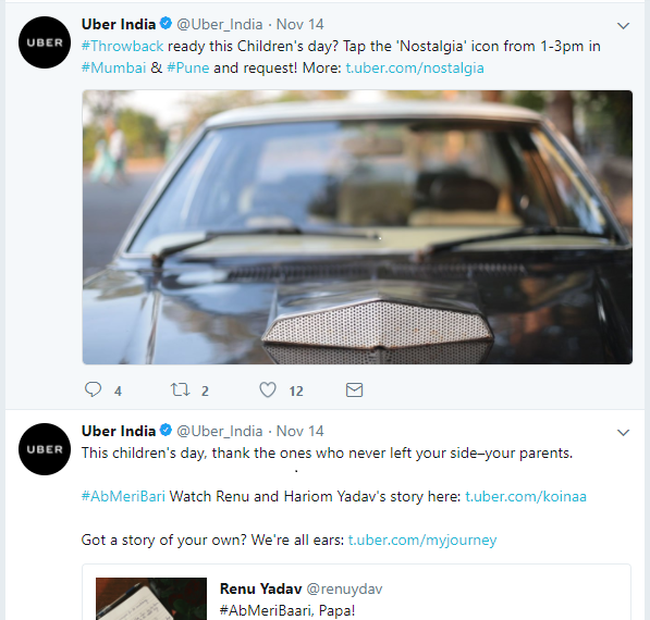 The Campaign of the week: UBER or OLA – who drove far?