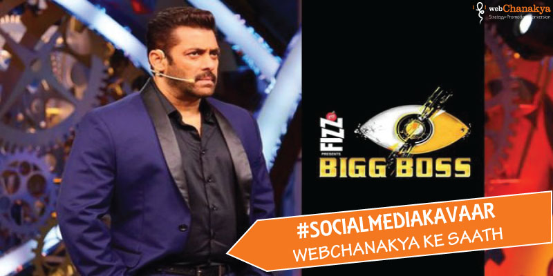 Decoding Social Media strategy of Bigg Boss 11