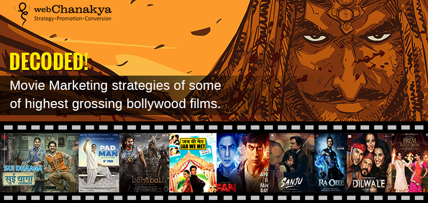 Movie Marketing strategies of highest grossing Bollywood movies