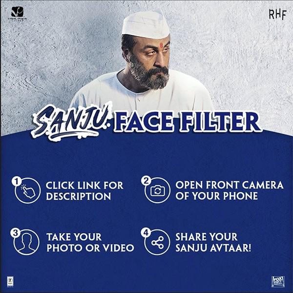 Sanju Face filter